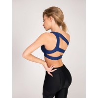 Sports BRA Bona Fide: Wild Cat Top Total 'Blue'