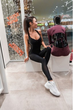 Jumpsuit Bona Fide: MySexySkin 'Black'