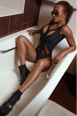Swimwear Bona Fide: BellaDonna 'Black'