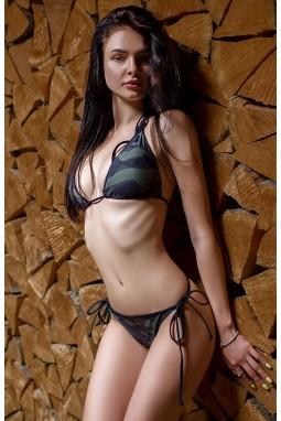 Swimwear Bona Fide: Mini Bikini 'Military Special Forces'