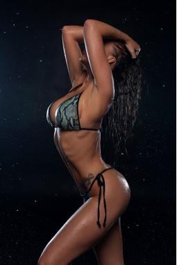 Swimwear Bona Fide: Bikini 'Green Snake'