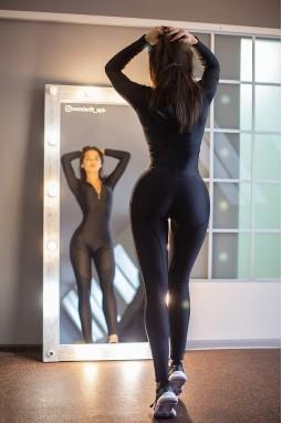 Jumpsuit Bona Fide: Oy - Vsyo Gym Suit 'Black'