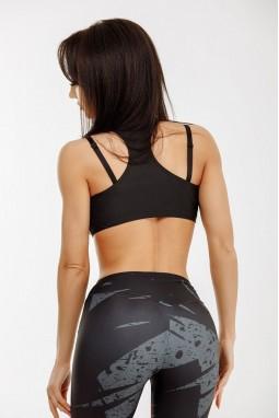 Sports BRA Bona Fide: MuscleTop 'Black'