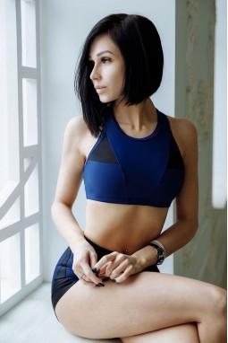 Sports BRA Bona Fide: Top DarkMisstress'Total Blue' V1.0